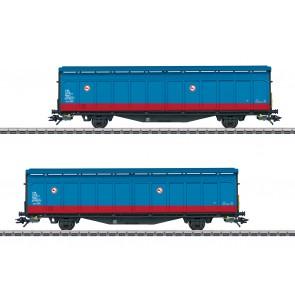Marklin 48013 - Schiebewandwagen-Set SE
