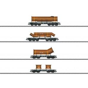 Marklin 48695 - Schwerlastwagen-Set DB