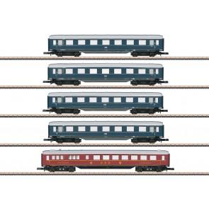 Marklin 87357 - Schnellzugwagen-Set DB