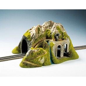 Noch 02220 - Tunnel 1-gleisig, gerade, 34 x 26 cm