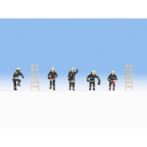 Noch 15021 - Feuerwehr schwarze Schutzanzüge