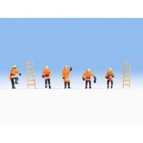 Noch 15022 - Feuerwehr orange Schutzanzüge