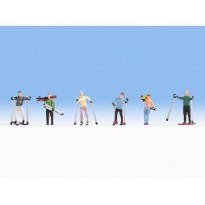 Noch 15827 - Skifahrer