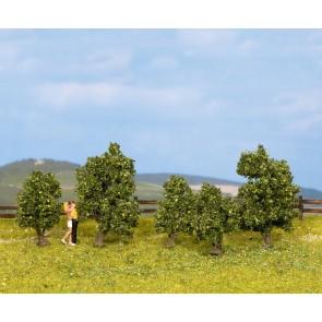 Noch 25410 - Sträucher, grün, 5 Stück, 3 - 4 cm hoch