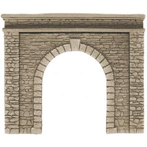 Noch 58061 - Tunnel-Portal, 1-gleisig, 15 x 12,5 cm_02