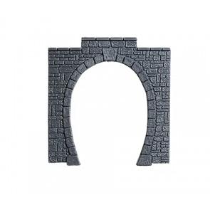 Noch 60010 - Tunnel-Portal Kunststoff, 1-gleisig, 11 x 11 cm_02