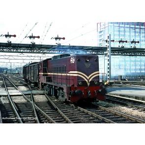 Piko 40418 - N-Diesellok NS 2218 NS braun IV, A-Licht
