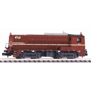 Piko 40445 - N-Diesellok 2275 rotbraun NS IV + DSS Next18