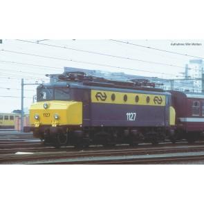 Piko 51371 - ~E-LokSound Rh 1100 NS gelb-grau IV + PluX22 Dec.