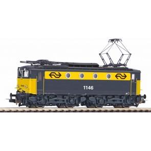 Piko 51378 - E-LokSound Rh 1100 grau gelb NS IV + PluX22 Dec.