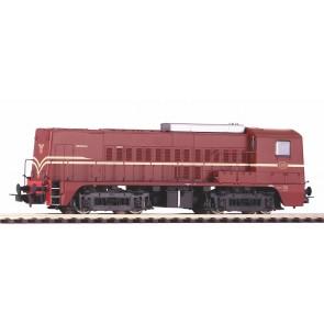 Piko 52694 - DiesellokSound Rh 2200 NS rotbraun III + PluX22 Dec.