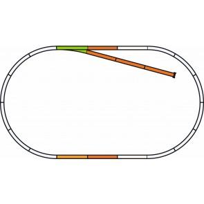 Piko 55311 - PIKO A-Gleis mit Bettung Gleis Set B