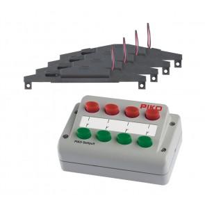 Piko 55392 - Weichen-Antriebs-Set 4x + Stellpult