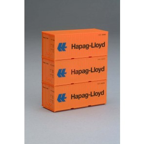 Piko 56202 - Container 3er-Set 20' Hapag Lloyd
