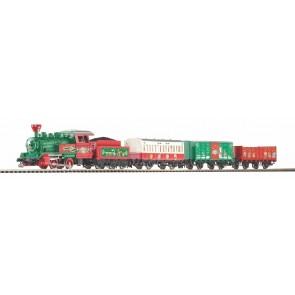 Piko 57081 - S-Set Weihnachten Lok + 3 wg. A-Gleis & B