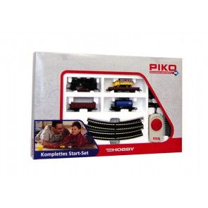 Piko 57111 - Start-Set Tenderlok + Güterwgn.