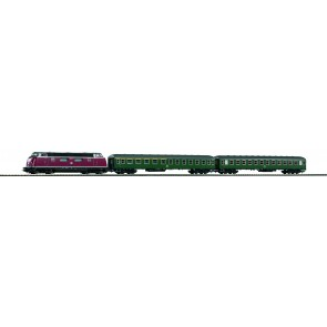 Piko 57132 - Start-Set Eilzug BR220 + 2 Wagen DB IV
