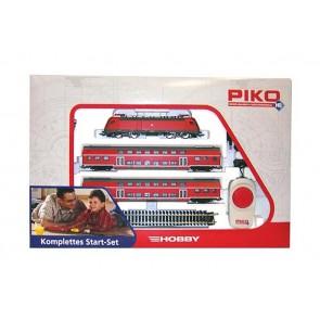 Piko 57171 - Start-Set DB AG: E-Lok BR182 + DoSto-Wgn.