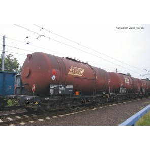 Piko 58361 - 3er Set Kesselwagen Zas 406R Dec PKP VI