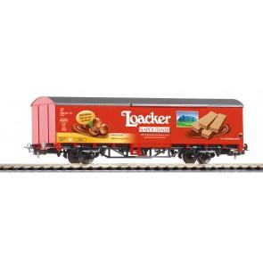 Piko 58744 - Ged. Güterwagen Loacker FS VI