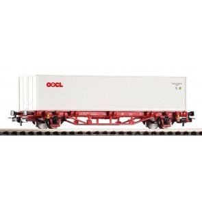 Piko 58754 - Containertragwagen NS VI, 2X20' Container