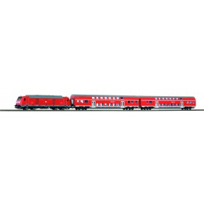 Piko 59112 - PIKO SmartControl Premium Train Set BR 245 Nahverkehrszug + Loksound