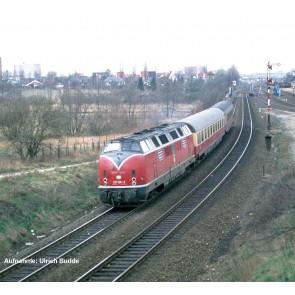 Piko 59116 - PIKO SmartControl Premium TrainSet BR 221 & Avmz 111 & Apmz 121 TEE Merkur DB IV