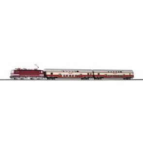 "Piko 59117 - PIKO SmartControl Premium TrainSet BR 243 + DoSto. und Steuerwg. ""Sputnik"" DR IV"