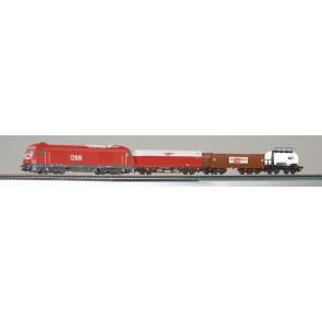 Piko 96948 - Start-Set Güterzug Herkules ÖBB + 3 Güterwg.