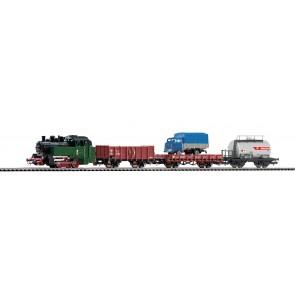Piko 97907 - Startset Dampflok & drei Güterwagen PKP III