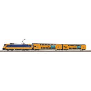Piko 97939 - S-Set E-Lok Personenzug mit 2 Doppelstocksitzwagen NS A-Gleis & B V