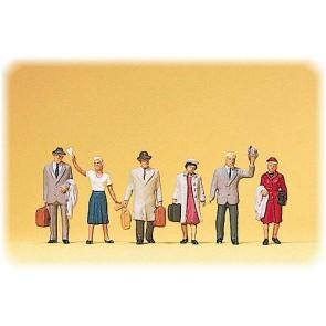 Preiser 10020 - 1:87 Reizigers