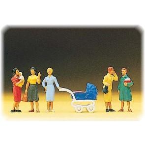 Preiser 10024 - 1:87 Vrouwelijke passanten