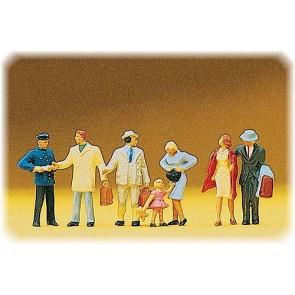 Preiser 10029 - 1:87 Figuren bij perroningang
