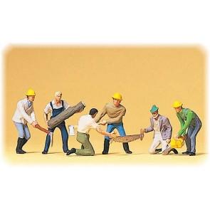 Preiser 10042 - 1:87 Bosarbeiders