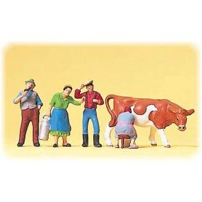 Preiser 10044 - 1:87 Boerderijfiguren