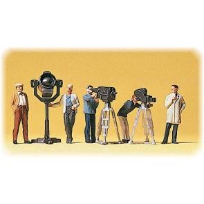 Preiser 10062 - 1:87 Film en TV-team