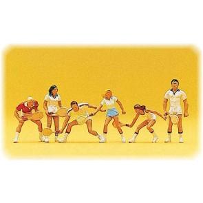 Preiser 10078 - 1:87 Tennisspelers