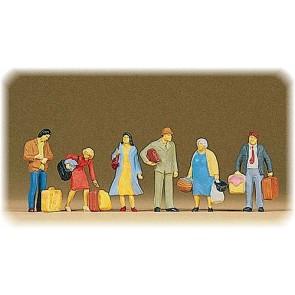 Preiser 10114 - 1:87 Wachtende reizigers
