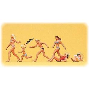 Preiser 10211 - 1:87 Badende figuren op het strand