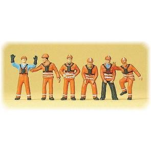 Preiser 10245 - 1:87 Rangeerpersoneel DB