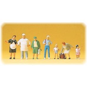 Preiser 10275 - 1:87 Bakker Krause en familie
