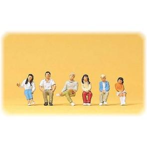 Preiser 10297 - 1:87 Jonge reizigers