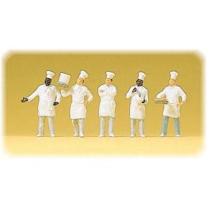 Preiser 10330 - 1:87 Koks aan het buffet