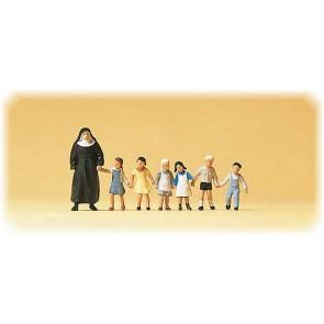 Preiser 10401 - 1:87 Non met kinderen