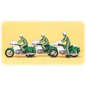 Preiser 10489 - 1:87 Motorpolitie Duitsland