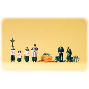 Preiser 10520 - 1:87 Begrafenis katholiek