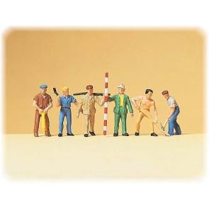 Preiser 14030 - 1:87 Arbeiders