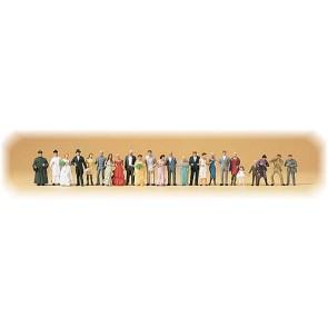 Preiser 14415 - 1:87 24 pcs bruiloftsgasten