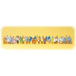 Preiser 14416 - 1:87 48 pcs zittende figuren